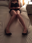 The wife's long legs, hoping she'll spread them for you all soon