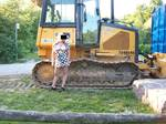 Something about parks and tractors.I just need to let the twins hang out! n...