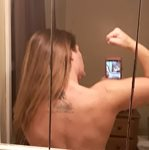After workout shower