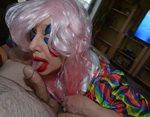 Getting my clown on,....