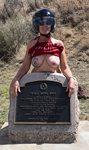 Monumental titties or at least having fun flashing my titties in the great ...