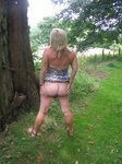 Me and my bum outside again