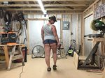 So damn hot, I hate wearing too much while working in my shop...  which of ...