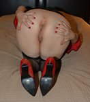 Here's some more of the black and red set,...