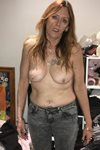 topless old milf