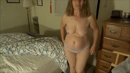 Wife getting undressed