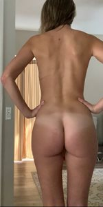 Maybe my bum will make your New Year better? Maybe?