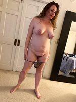 Susan with Panties Down