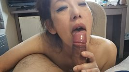 His cock is very stiff and big and can not fit in my throat