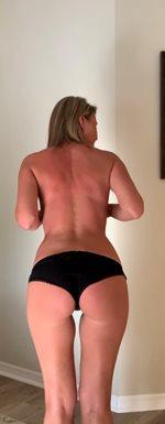 new tan lines...