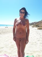 Just had another great day down the nude beach, my wifes tan is looking hot...