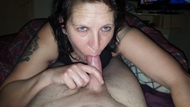 Me this eve sucking my bf s best mates hard cock in my bfs bed shame he was...