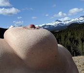 The right nipple has a dream... a dream of when it can be one with the moun...
