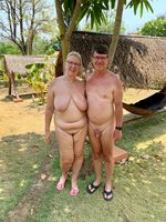 Naked holiday in Thailand
