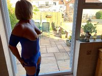 I hope the neighbours can see my hard nipples from here mmm xx