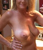 Marci showing off her magnificent breasts