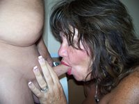 Gail Is A Pro When It Comes To Smoking Cock!