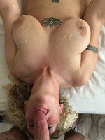 Com on my boobs