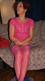 me in pink showing my pink