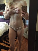 Showing off my new Wicked Weasel knickers.